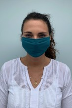 Packs of 2 duck blue barrier mask