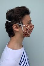Lot de 2 masques barrières aux motifs star