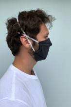 Packs of 2 dark navy blue barrier mask