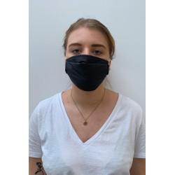 Packs of 2 dark grey barrier mask