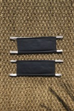 Packs of 2 mottled grey barrier mask