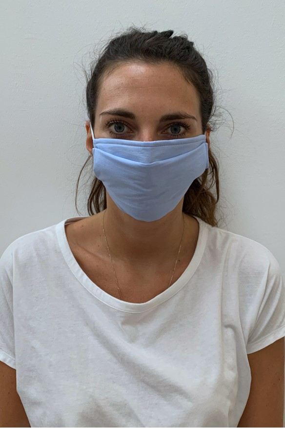 Packs of 2 blue sky barrier mask