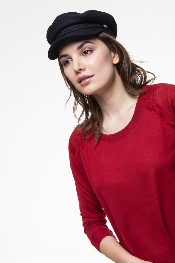 Merinos wool red sweater