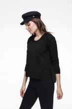 Merinos wool black sweater