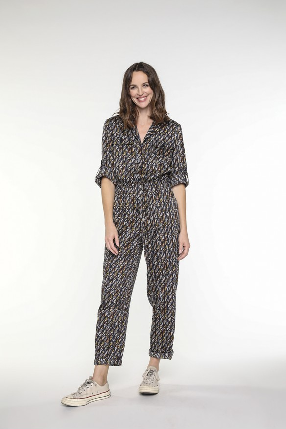 Ethnic printed jumpsuit