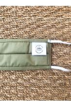 Packs of 10 almond green barrier mask