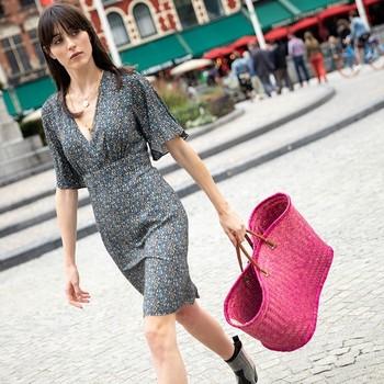A nos journées shopping que l'ont retrouve enfin avec notre petite robe Palavas ! 😍  #cheminsblancs #newco #spring #summer