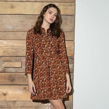 Plus que quelques pièces pour notre robe Piper... Aucun réassort ne sera prévu ✨  #cheminsblancs #newcollection #winter #autumn #backtowork