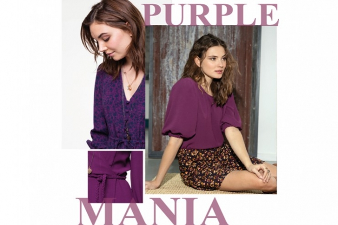 Purple Mania : comment porter la mode du violet ?